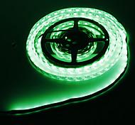 Los 5M 72W 300x5050SMD Green Light Lámpara LED Strip (12V DC)