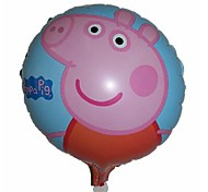 10pcs/lot Peppa Pig Balloon Party Supplies