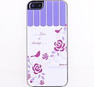 Love Is Обмен Pattern кожа случае Зерно Назад для iPhone 5/5S