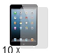 protecteur prime clair d'écran pour Mini iPad 3 mini iPad 2 iPad mini (10 pcs)