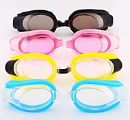 Coway Children's Flat Waterproof Swimming Goggles(Assorted Color)