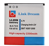 Link Dream High  Quality 3.7V 2200mAh Cell Phone Battery for Sony BA700