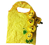 Eco-friendly Sunflower Pattern Shopping Bag(Random Color)