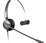 BENERTECH ™  Lightweight Overear Communication Headset for Call Centre And Deskphone And IP Phone And Computer