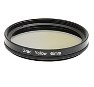 46mm Black Circular Boarder Yellow Gradient Camera Filter