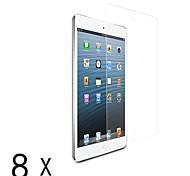 claro protector ultra-lcd pantalla guardia para Mini iPad 3 Mini iPad 2 iPad mini (8 piezas)
