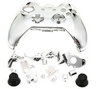 Coque de contrôleur de jeu pour Xbox One Silver