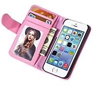 Wallet Style Pu Leather Case for Iphone 4G/4S With Stand Fuction