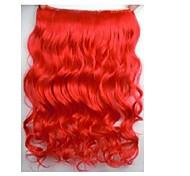 Clipes venda quente colorida Colour Red Bar atacado da menina do cabelo de extensão