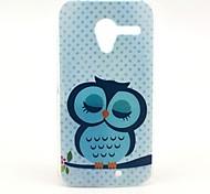 Cute Lovely Owl Pattern Plastic Hard Case for Motorala Moto X