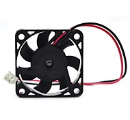 MaiTech 40 x 40 x 10mm 12V 0.10A Dual Balls Muting Cooling Fan - Black