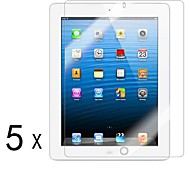[5-Pack] alta calidad Invisible Shield Smudge Protector de pantalla para iPad Prueba 2/3/4