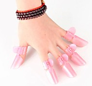 10 PCS Nail Polish Protection Clip Nail Art Tools
