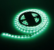 5M 24W 300x3528SMD Green Light Lampe LED Strip (12V DC)