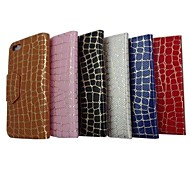Gold Stone Grain Pattern PU Leather Full Body Case with Stand for iPhone 5(Assorted Colors)