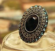 Moonlight Blue Diamond Gems Anillo Declaración