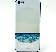 The Mirror of Sea Pattern Hard Case for iPhone 5C