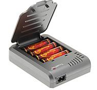 TrustFire 3000mAh 18650 (4 peças) w / Proteção de sobrecarga + TrustFire TF-003 Carregador de Bateria