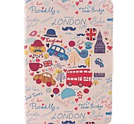 Cartoon Car and Letter Combination Case for iPad mini 3, iPad mini 2, iPad mini