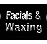 Facials & Waxing Neon Light Sign