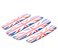 Simple Union Jack Motif Moto Protector Version autocollant (Kit 4 Pcs)