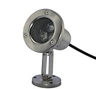 3pcs LED High Power LED extérieur chaud / pur / blanc froid lumière sous-marine AC/DC12V