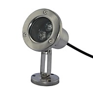 3pcs LED de alta potencia LED al aire libre caliente / puro / blanco frío ligero subacuático AC/DC12V
