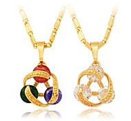 Clear Pendant Necklaces Wedding / Party / Daily / Casual / Sports Jewelry