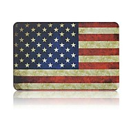 "Angibabe Retro American Flag Matte Rubberized Full Hard Case for Macbook Air 11.6"" inch"