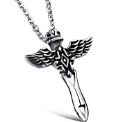 Cool Fashion Personality Hot Wings Soar Fashionable Man Cross Pendant