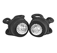 2pcs Silicone Bike Head Rear Wheel LED Flash Light(Assortted Colors)