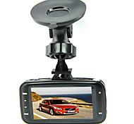480p HD 1280 x 720 Full HD 1920 x 1080 Videoregistratore digitale per auto 2,7 pollici Schermo Videocamera da cruscotto