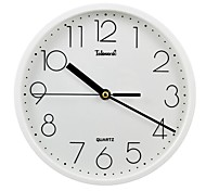Telesonic™ Brief Style Raisde Scale Super Mute Wall Clock
