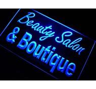 Beauty Salon & Boutique Neon Light Sign