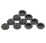 10pcs Anti-Slip Silicone Analógico Cap Covers para PS4/PS3/XBOX Controlador ONE/XBOX360