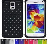 Two-in-One über den ganzen Himmel Sterne Design PC und Silikon-Hülle für Samsung Galaxy i9600 S5 (verschiedene Farben)