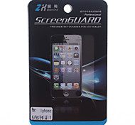 High Definition Front and Back Protector Guard Set with Cleaning Cloth for iPhone 4/4S