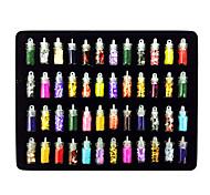 48PCS Mixs Style Nail Art Decorations Suit