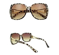 Lureme New Style Fashion Women Leopard Big Frame Sunglasses