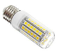 E26/E27 LED Corn Lights T 69 SMD 5050 630 lm Warm White AC 220-240 V