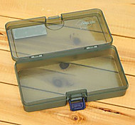 186*103*34MM Army Green Fishing Box Tackle Box
