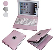 Elonbo Ultra-thin Aluminum Alloy Design with Protection Shell Bluetooth Keyboard for iPad 2/3/4