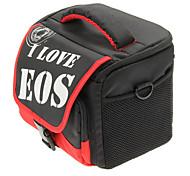 EOS Fashion Portable Black Bag for Photographic Camera