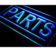 i525 PARTS Auto Car Shop Display Neon Light Sign