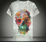 Men's Summer Print Short Sleeves T-shirt