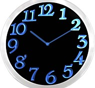 nc0970 Big Letter Home Decor Night Light Neon Sign LED Wall Clock