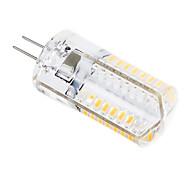g4 3W 448lm 64x3014smd luz branca quente / frio levou bulbo milho (220v)