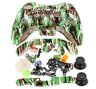 Replacement Camouflage Housing Case for Xbox 360 Controller