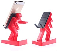 Chargez le support pour Samsung / Apple Phone / iPad (Rouge)
