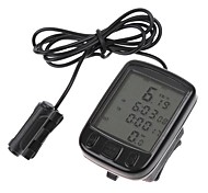 Bike Computer,Waterproof LCD Cycling Bike Bicycle Computer Odometer Speedometer 24 Functions
